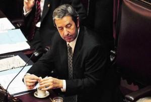 Julio Cobos en el senado