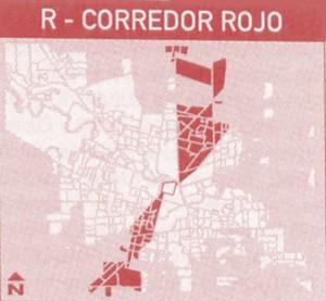 corredor rojo - Transporte urbano de Córdoba