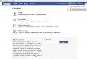 Bloquear contactos en Facebook