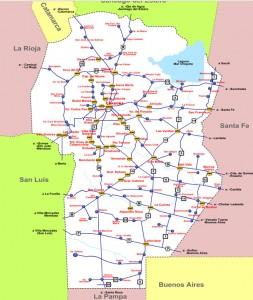 estaciones gnc cordoba mapa