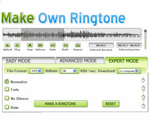 crear editar ringtones on line
