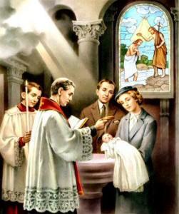 bautismo iglesia catolica