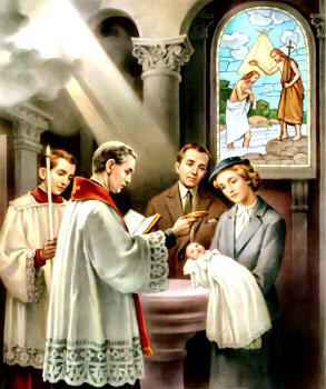 The Sacrament of Baptism in Catholic Church