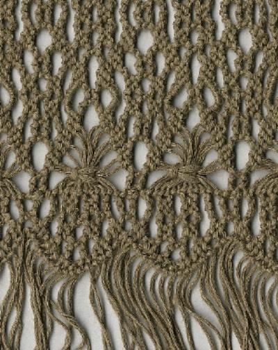 puntos crochet. en crochet y lana.