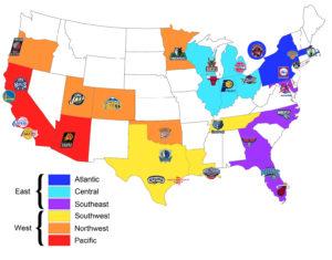 estadios NBA